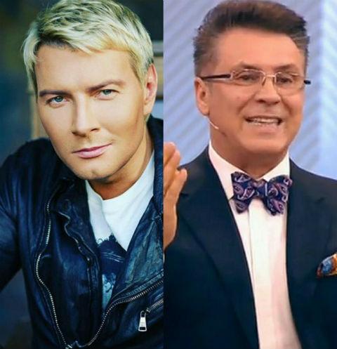 Николай Басков и Владимир Березин