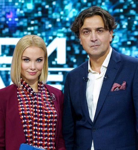 Александр Лазарев-младший и Татьяна Арнтгольц