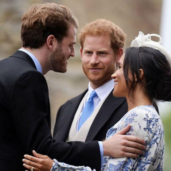 Принц Гарри и Меган Маркл с удовольствием общались со всеми гостями