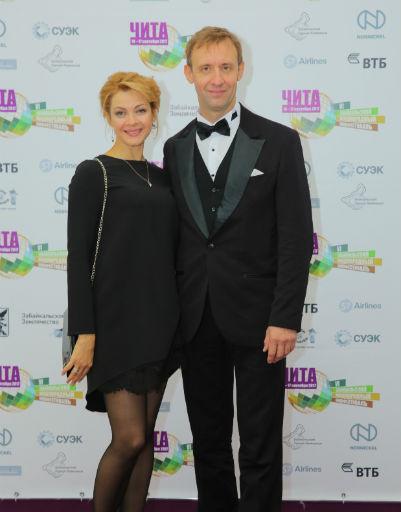 Дмитрий Павленко с женой