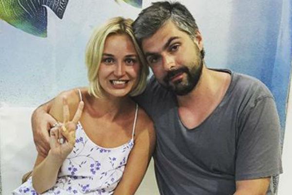 Полина с мужем Дмитрием Исхаковым