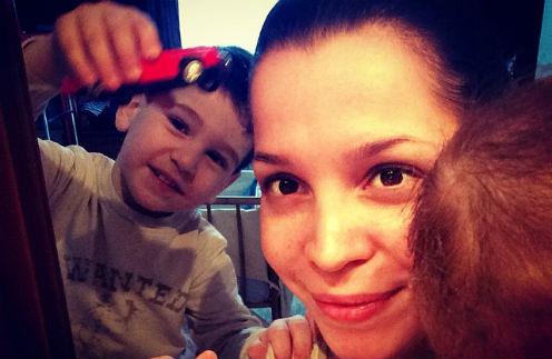 Юлия Салибекова выкладывает фотографии старшего сына Ролана, а волт Эльдара пока прячет от любопытных глаз