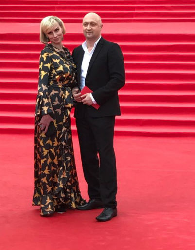 Гоша Куценко с супругой