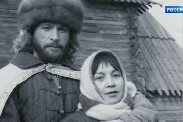 Игорь Тальков с женой