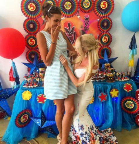Дарья Пынзарь и Элла Суханова