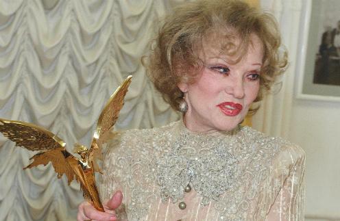 "Людмила Гурченко в 2010 году на премии ""Ника"""