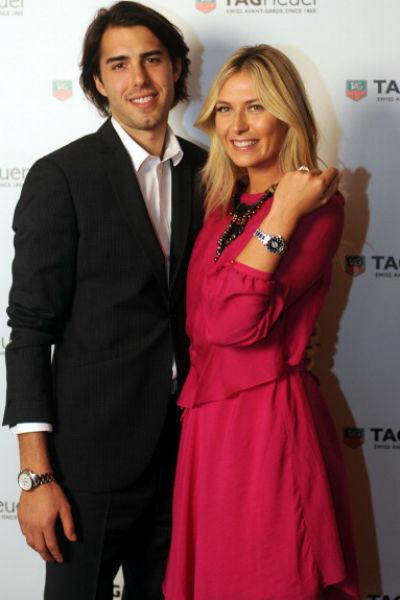 Мария Шарапова с Сашей Вуячичем