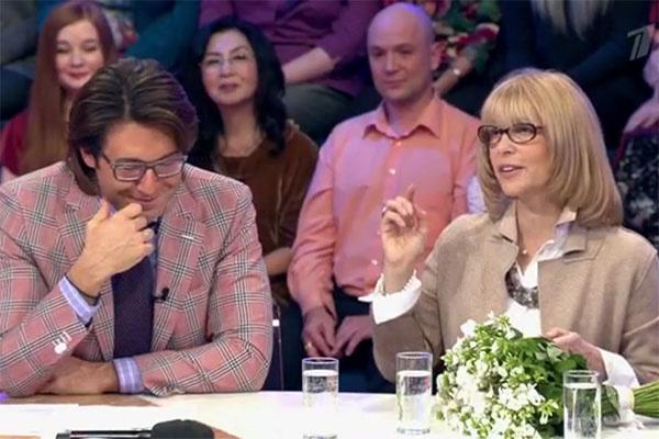 Вера Глаголева на программе Андрея Малахова