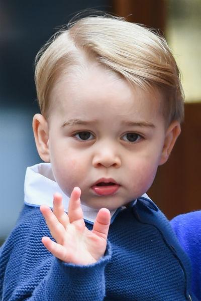 По словам отца, принц Джордж становится все энергичнее
