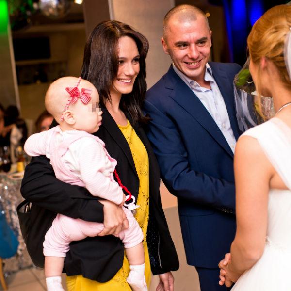 Игорь с Кристиной и дочкой Софией-Каролиной постоянно вместе