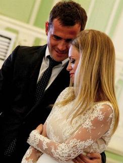 Александр Кержаков с супругой Миланой