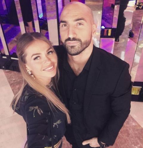 Анна Хилькевич и ее супруг Артур