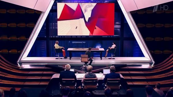 Анастасия Кормышева и Вэйланд Родд на съемках передачи