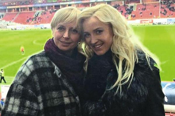 Телеведущая и Ольга Александровна вместе ходили на Димины игры