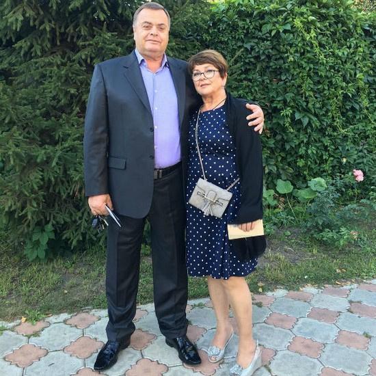 Владимир Борисович Фриске и Ольга Владимировна Копылова