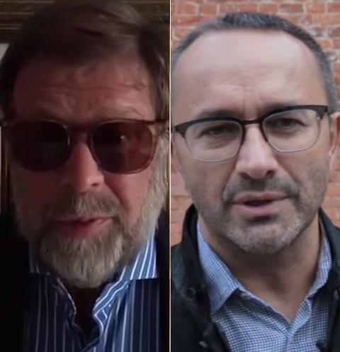 Борис Гребенщиков и Андрей Звягинцев