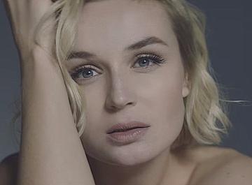 Полина Гагарина предстала обнаженной в новом клипе