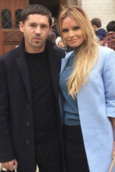 Дана Борисова с мужем Андреем