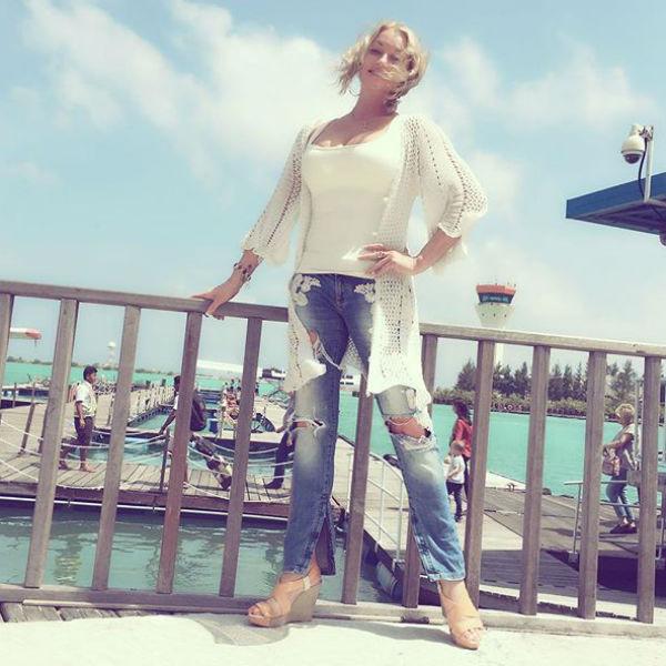 Анастасия Волочкова отправилась на полюбившиеся Мальдивы