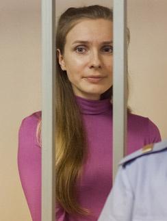 Анастасия Дашко на оглашении приговора
