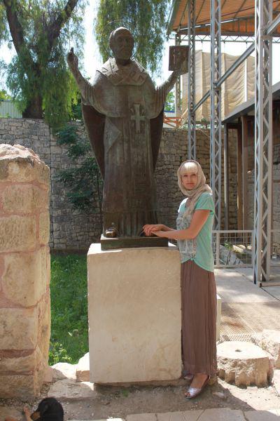 Натали давно мечтала попасть в храм святого Николая Угодника