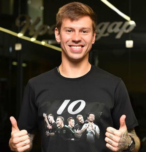 Черная полоса: Федор Смолов в первом матче за «Локомотив» подвел команду