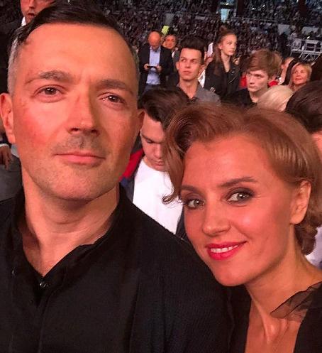 Ксения Алферова и Егор Бероев