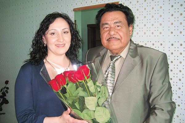 Играф Иошка с женой