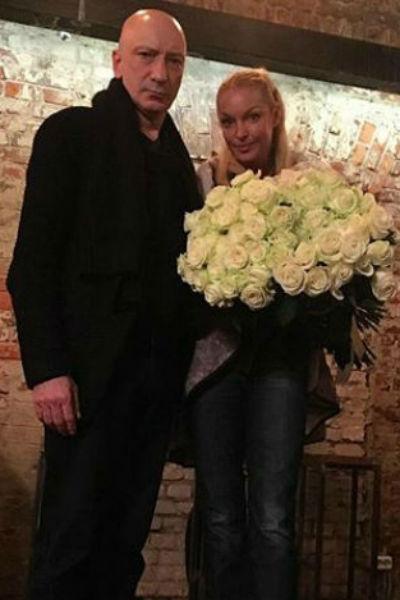 Анастасия Волочкова и Саид Багов после премьеры