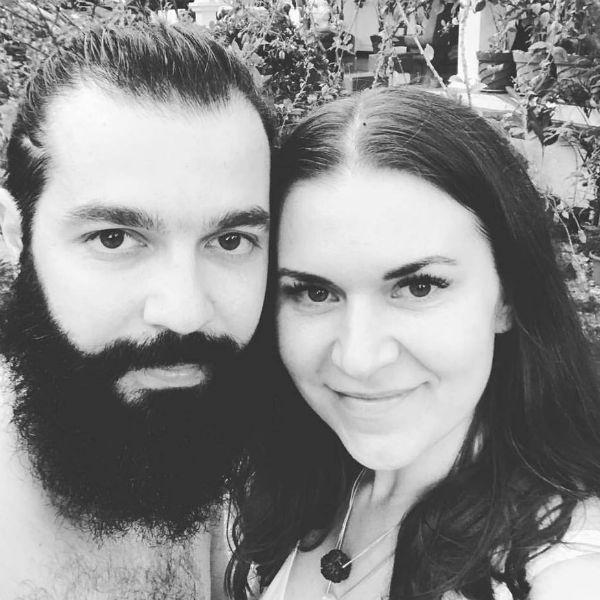 Кали Шанкар с женой
