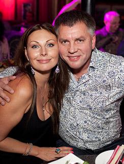 Наталья Бочкарева с бывшим мужем бизнесменом Николаем