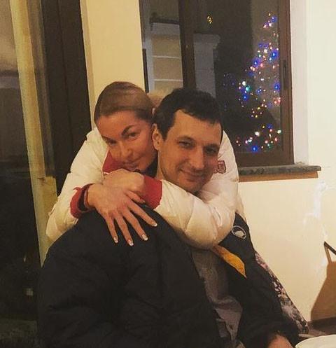 Анастасия Волочкова с бывшим возлюбленным