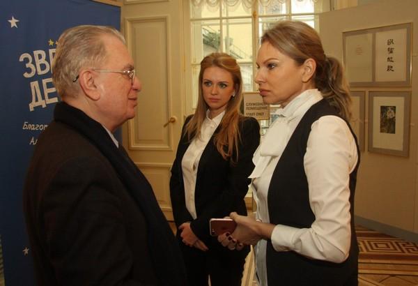 Милана Кержакова, Наталья Тюльпанова и Михаил Пиотровский