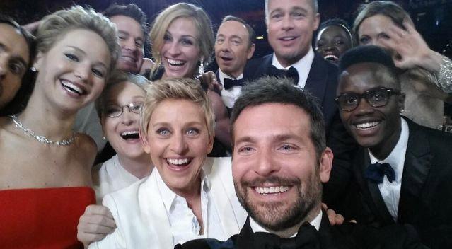 Легендарное селфи Оскар-2014