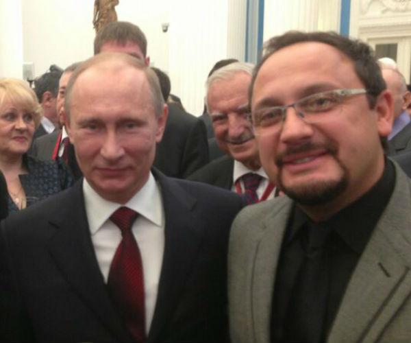 Владимир Путин и Стас Михайлов