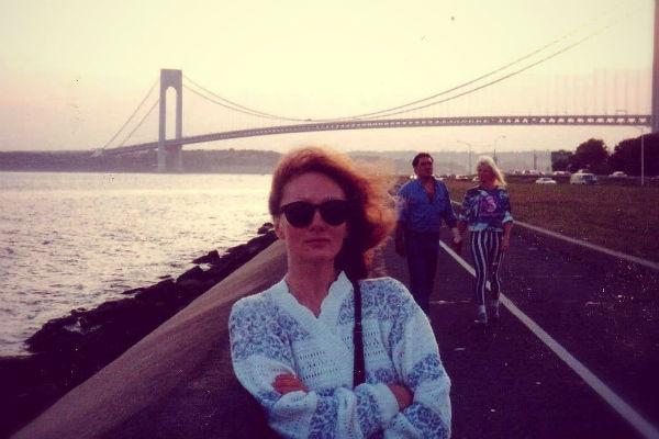Ольга Зарубина во время жизни в США