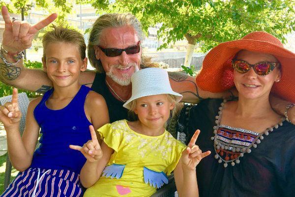 Никита Джигурда и Марина Анисина воспитывают двоих детей