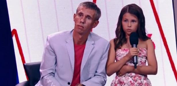 Нюся решила остаться с отцом