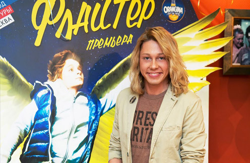 "Дмитрий Бикбаев на премьере спектакля ""Флайтер"""