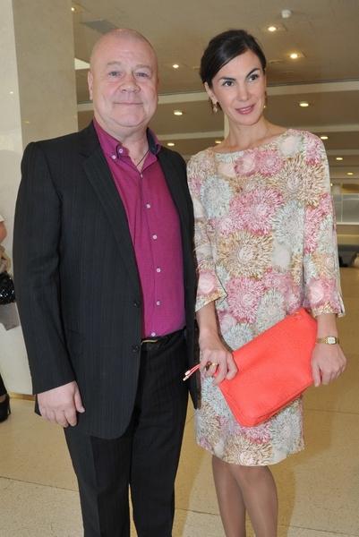 Сергей Селин со второй женой Анной
