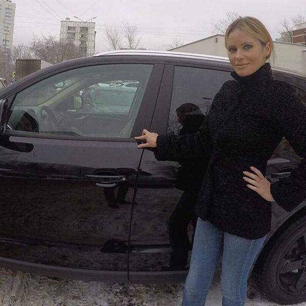Борисова не может отказать себе в удовольствии получать бонусы от рекламы