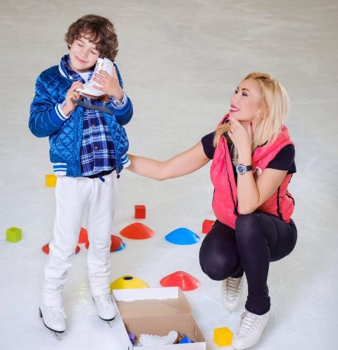 Настя Гребенкина и ее сын Иван