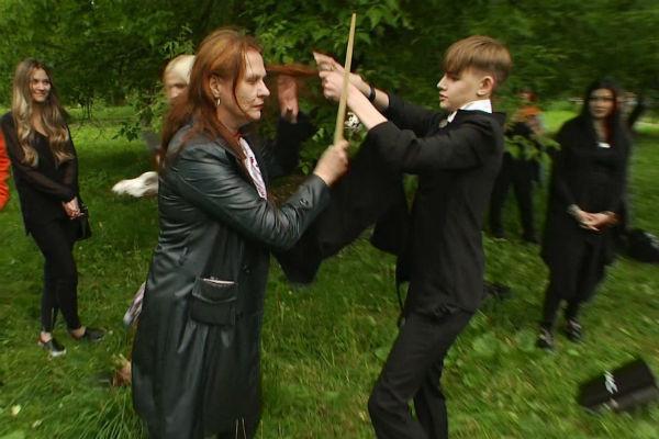 Фотография с кастинга нового сезона мистического шоу
