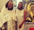 Анастасия Волочкова стала крестной мамой