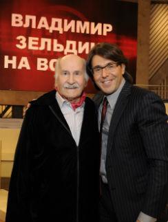 Я с Владимиром Михайловичем Зельдиным накануне его 98-го дня рождения