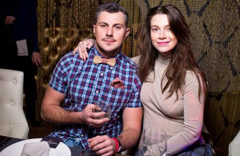 Алексей Секирин и Евгения Дмитриева на мероприятии Razakov Event