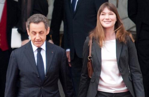 Карла Бруни и Николя Саркози