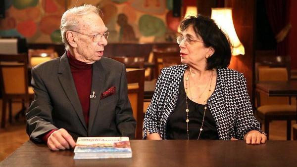 Алексей Баталов с женой Гитаной Леонтенко