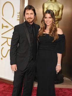 Кристиан Бейл с супругой