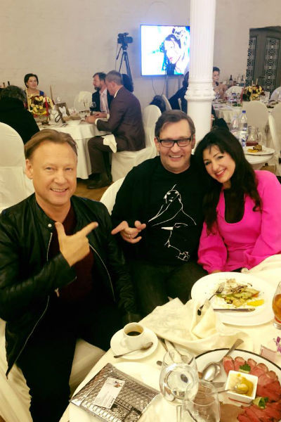 Дмитрий Харатьян, Александр Домогаров и Нара Ширалиева